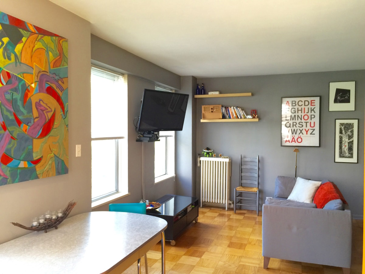 Large & Inclusive Lakeview Studio