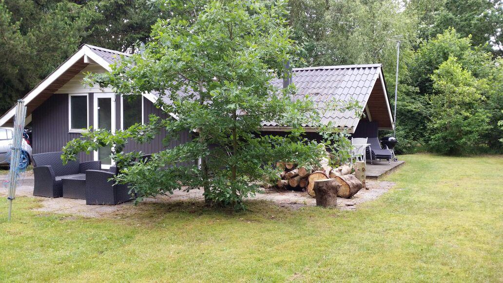 Hyggeligt og traditionelt sommerhus