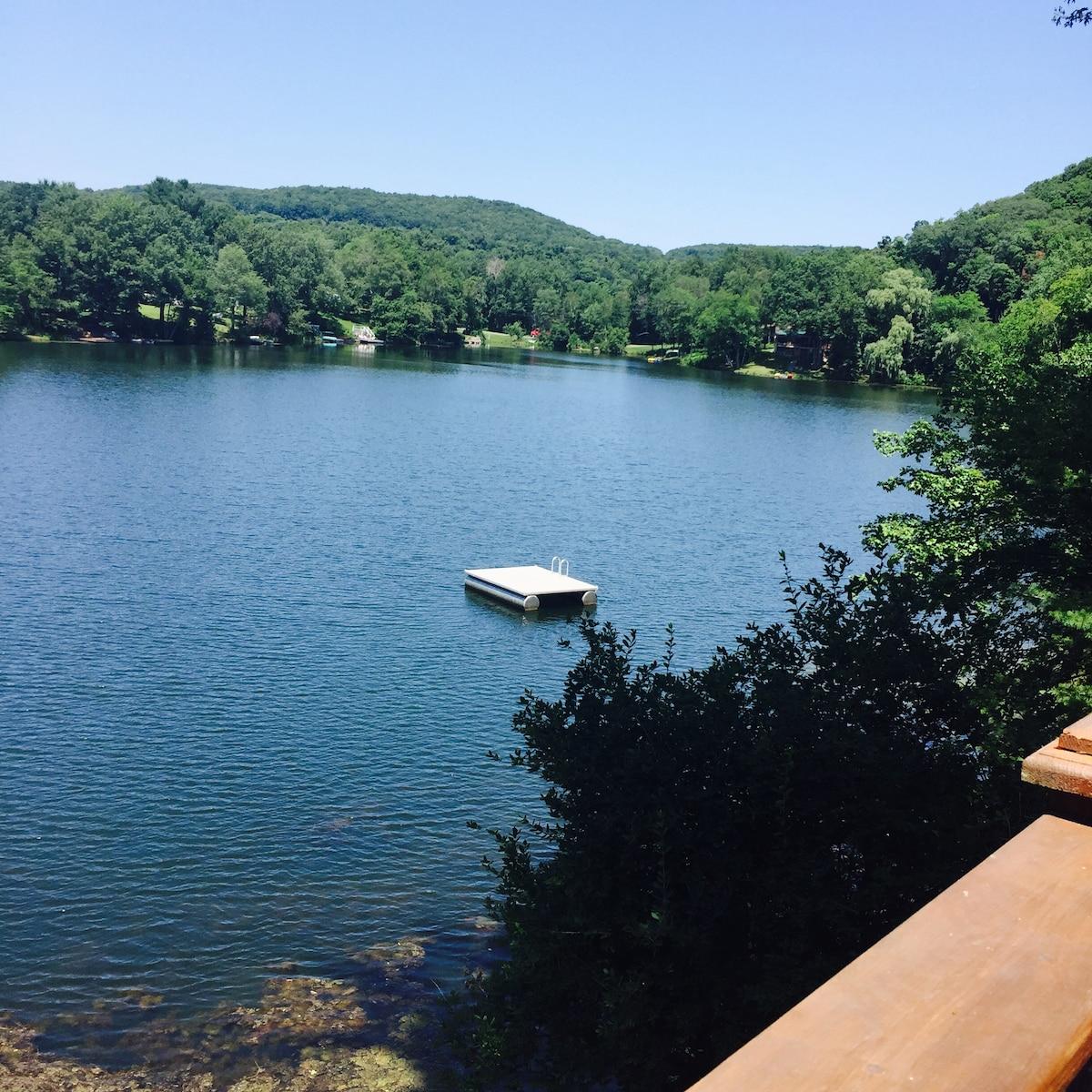 Lake House in the Berkshires in NY