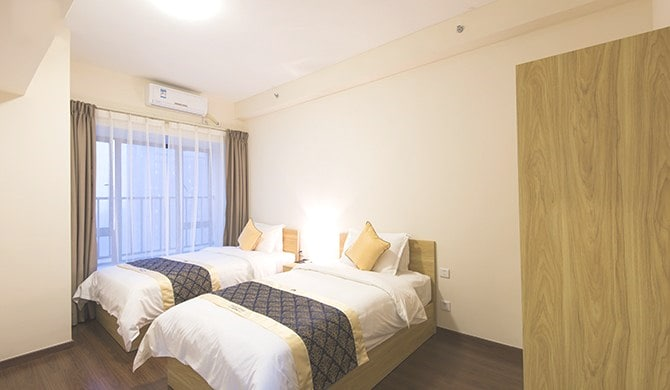 Comfy 2 BED Suite near MTR & Fair