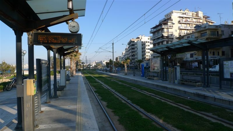 Excellent connection from/to the Airport/centre. Tram stop to the Acropolis & Piraeus, 5 min walk from apartment