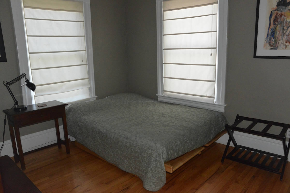 2nd guest bedroom with full-sized high quality futon...Southwest exposure.
