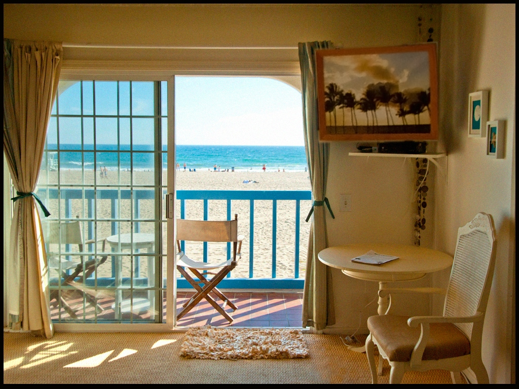 Your private balcony from your bedroom suite balcony overlooking the beachfront.