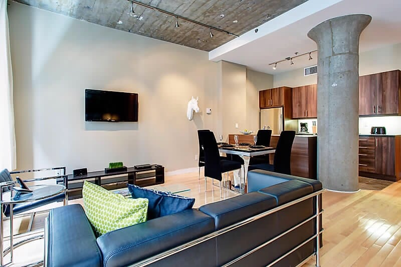 Loft in the heart of downtown