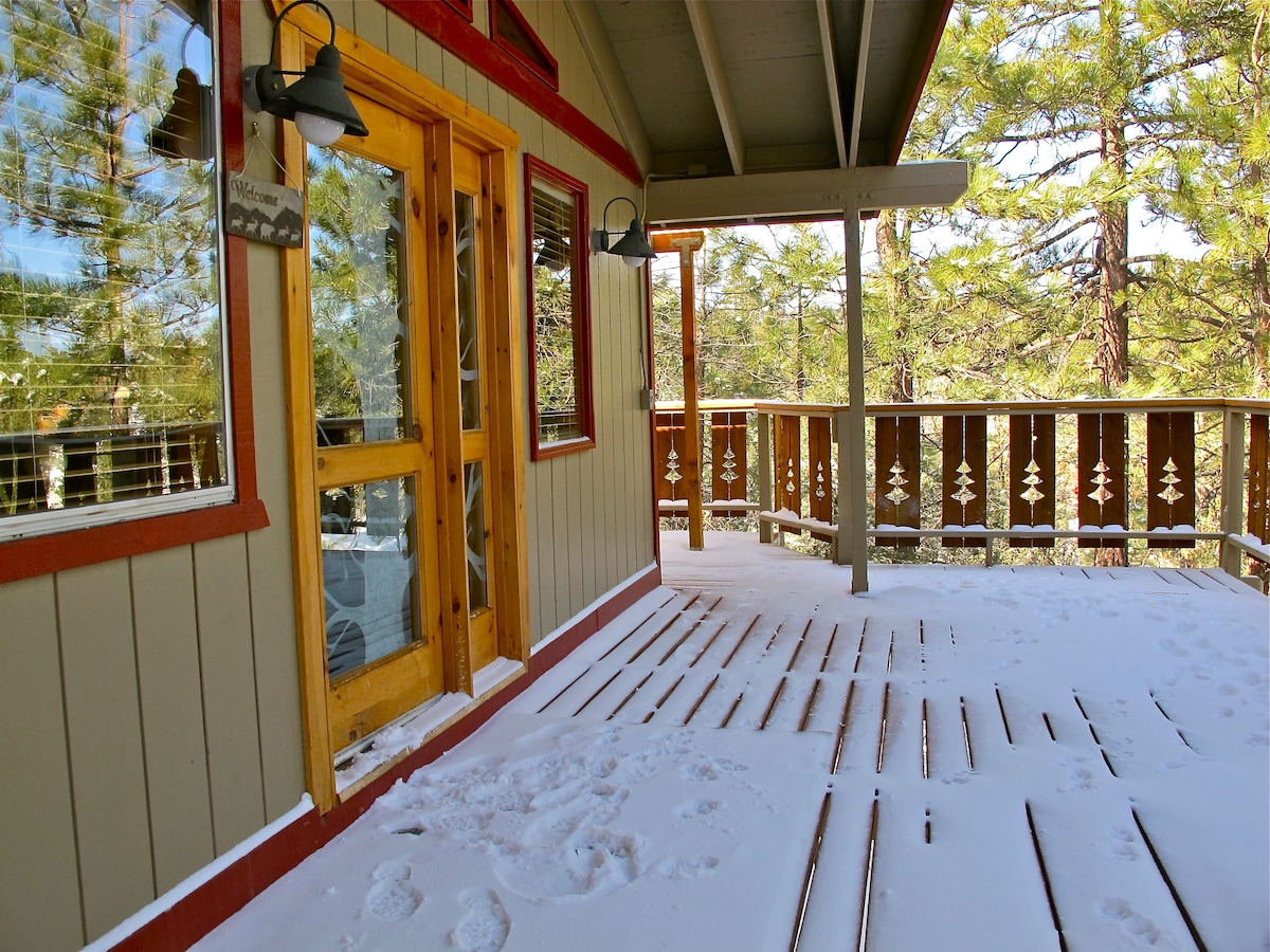 Inyo Tree House - 3BR w/ Steambath
