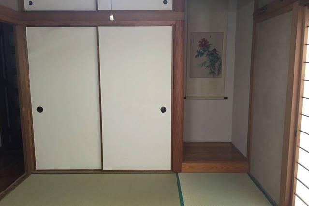 traditional Japnese tatami room