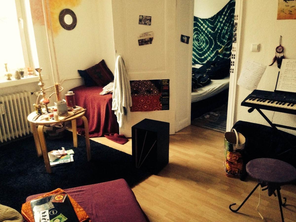 ruhiges Zimmer in Steglitz