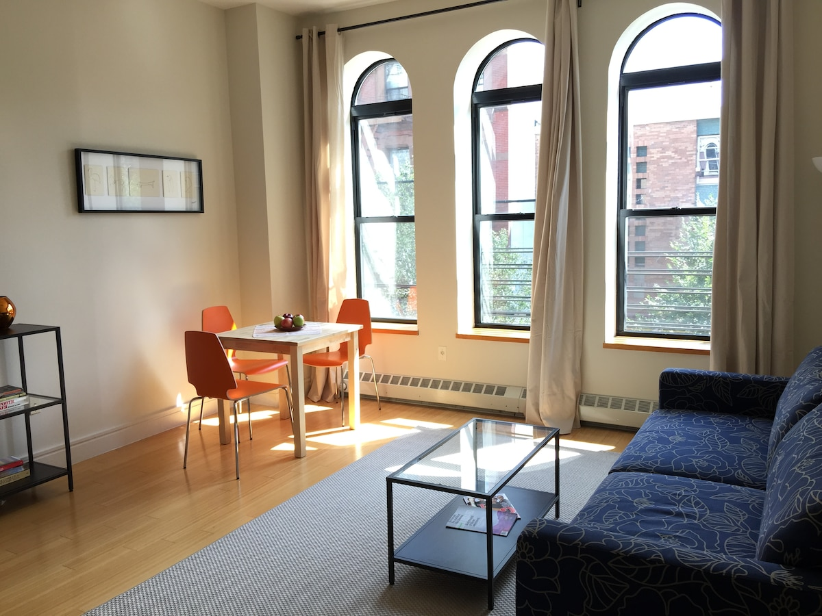 Beautiful, new 1BR in Brownstone