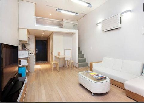 Entire Duplex Studio in Gangnam