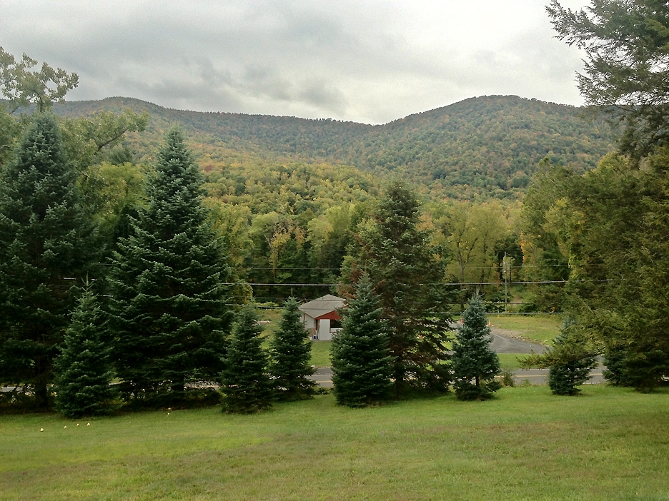 View of the Esopus Creek Valley from the property