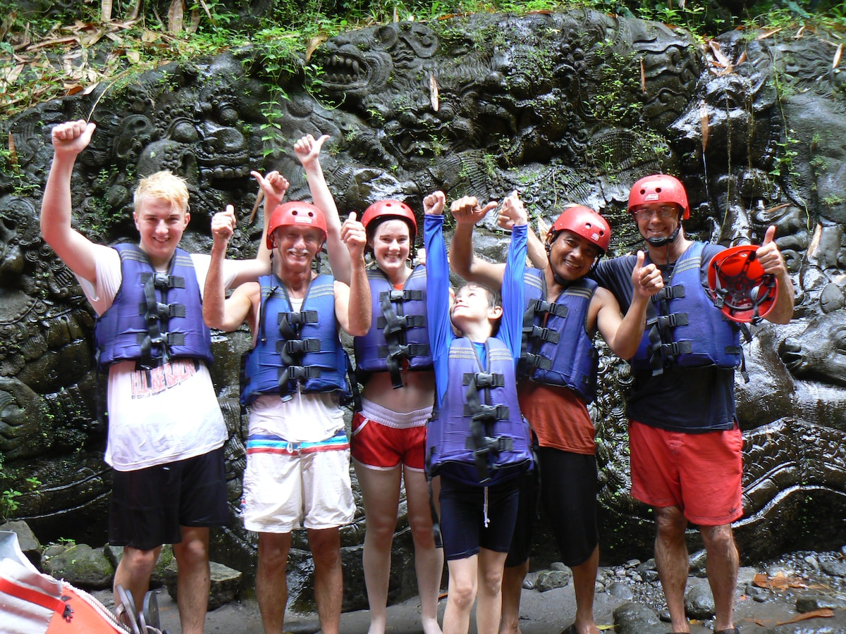 River rafting is a fun, safe adventure activity and just one of the things we can include in your stay with us