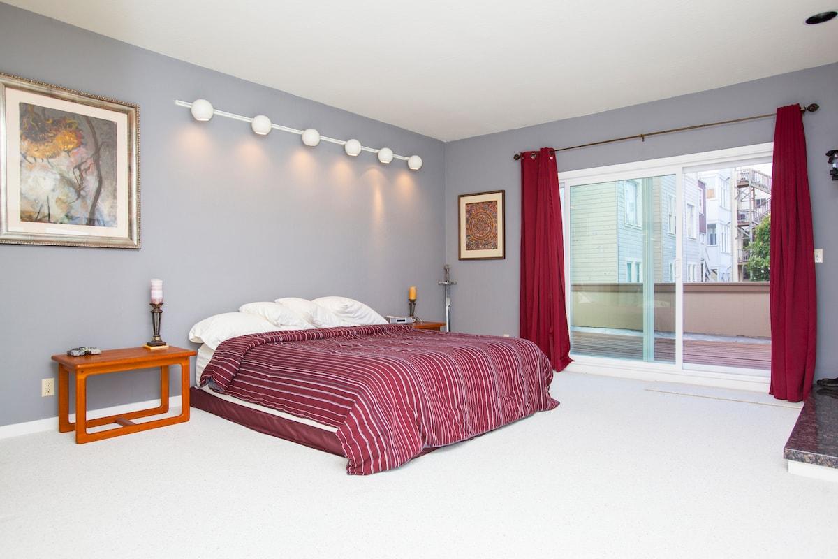 Panaromic Penthouse Master Suite