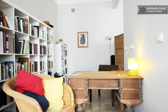 My library (part of Balcony Rooms)