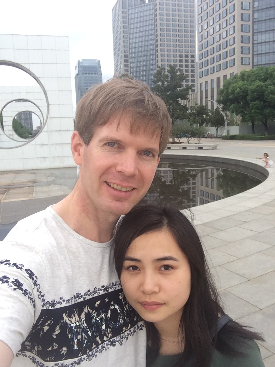 We're a Chinese Australian couple living and worki