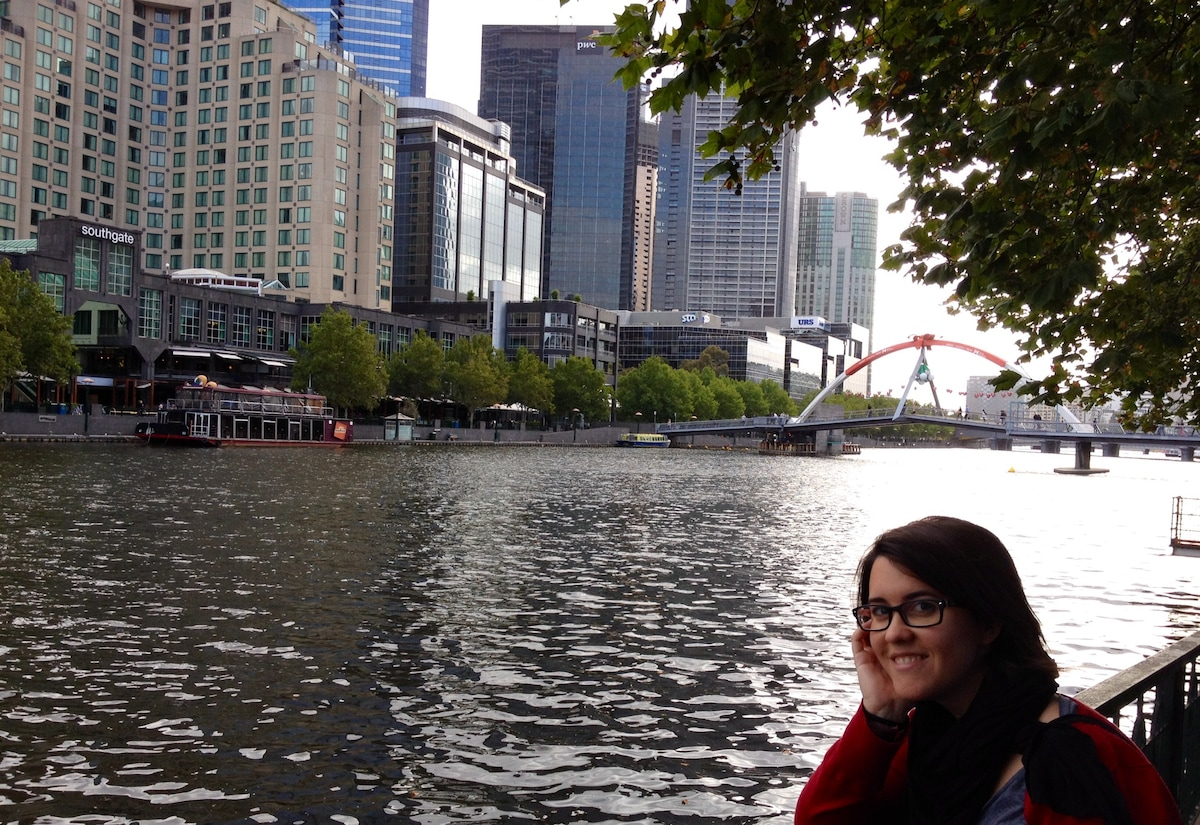 Núria from Southbank