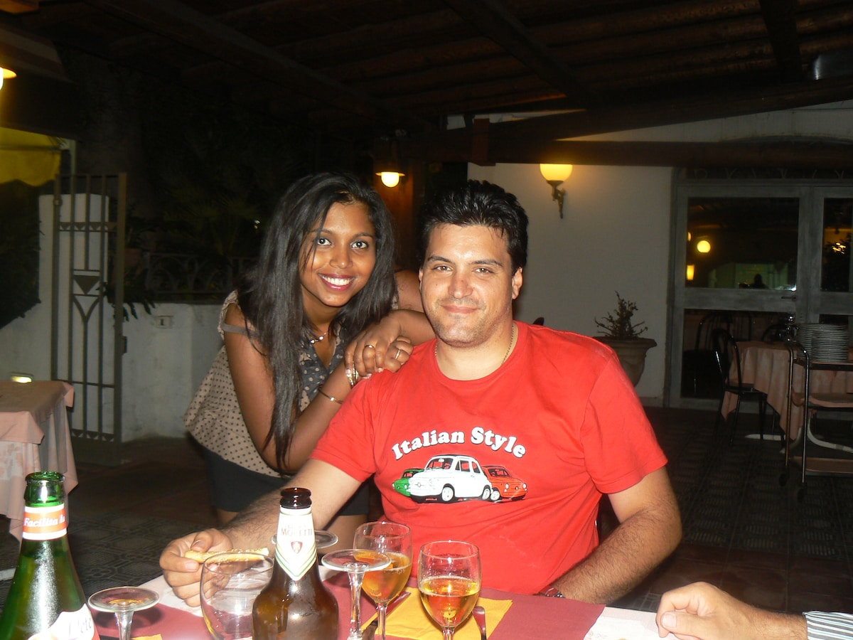 Anitha&Giampaolo From Milan, Italy