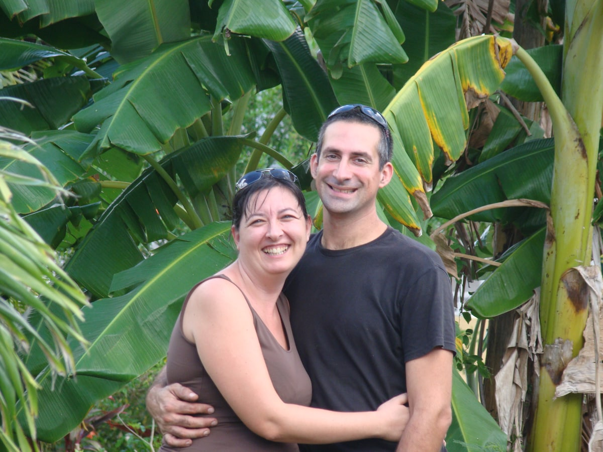 Cathy & Bruno from Sainte-Anne