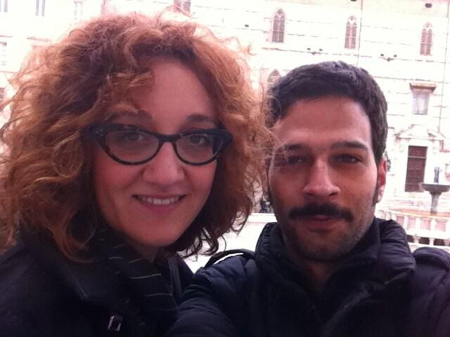 Manuele E Maria Chiara From Perugia, Italy