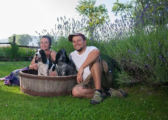 Erika & Alessandro From Tuscania, Italy