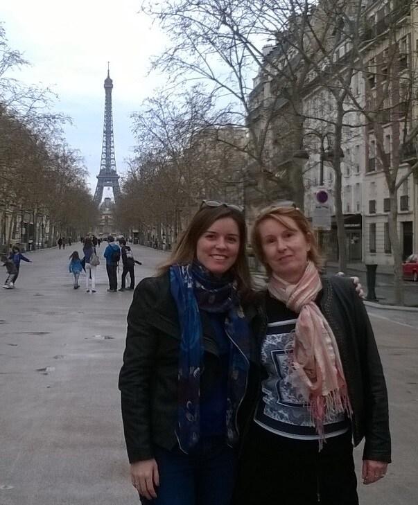 Raphaëlle & Dominique from Paris