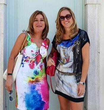 Patrizia & Enrica from Genoa