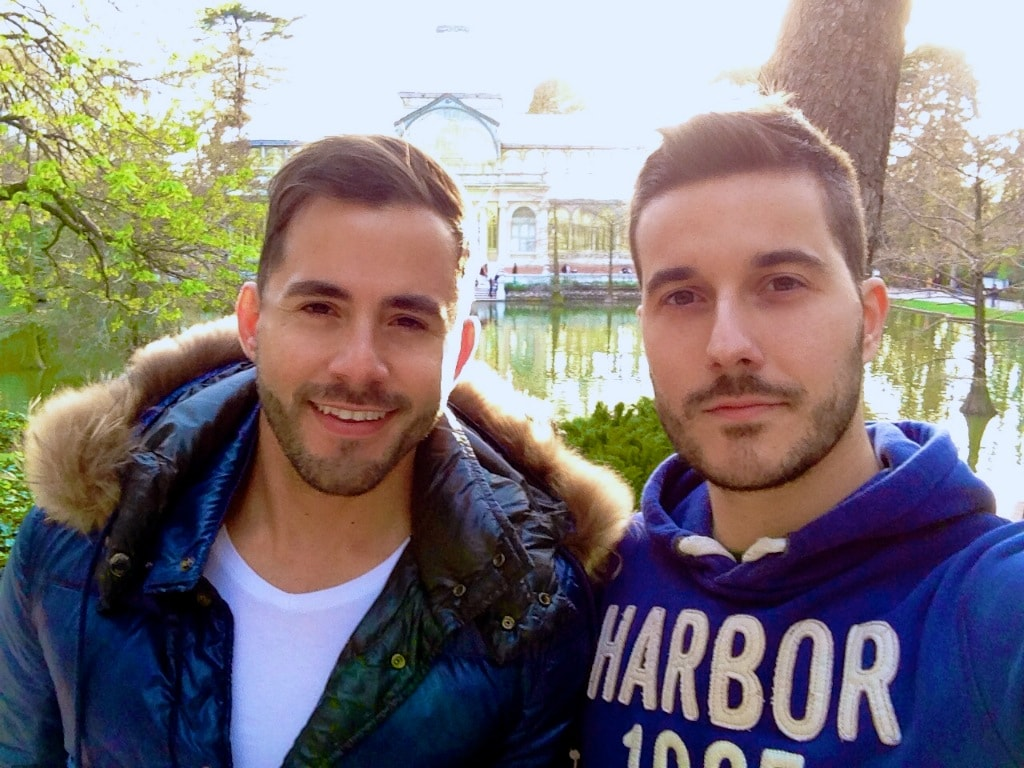 David Y Luis from Madrid