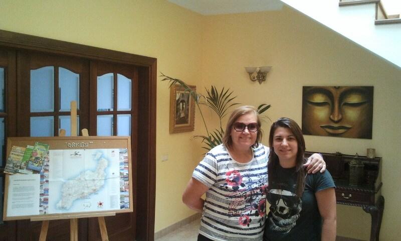Adela & Esther from Caleta de Famara