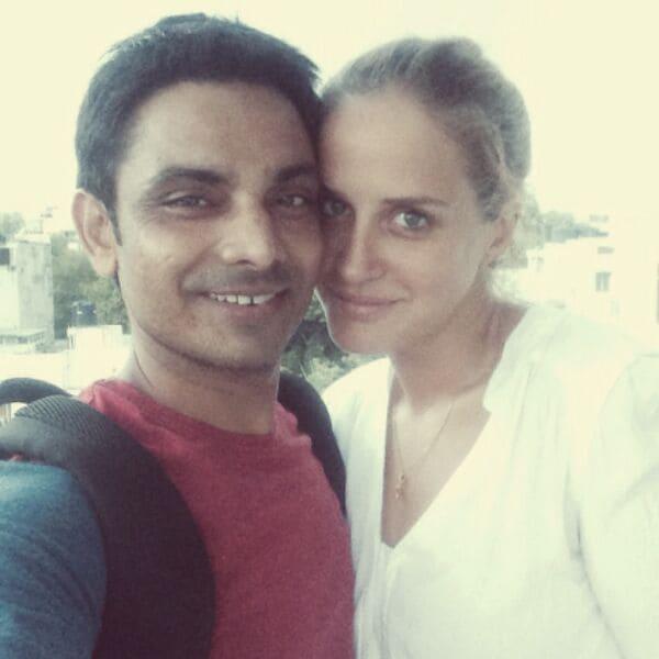 Geraldine & Praveen from New Delhi