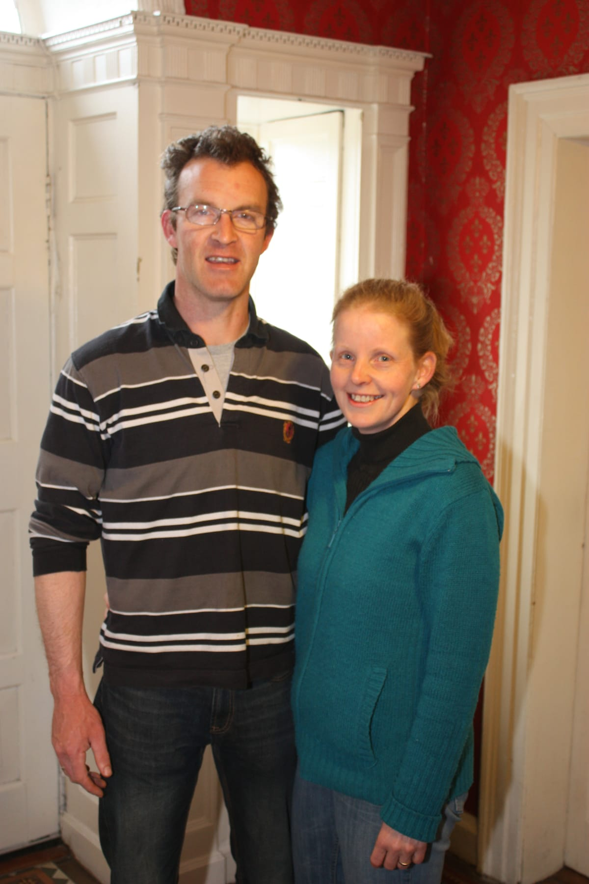 Andrew & Antoinette from Kildare