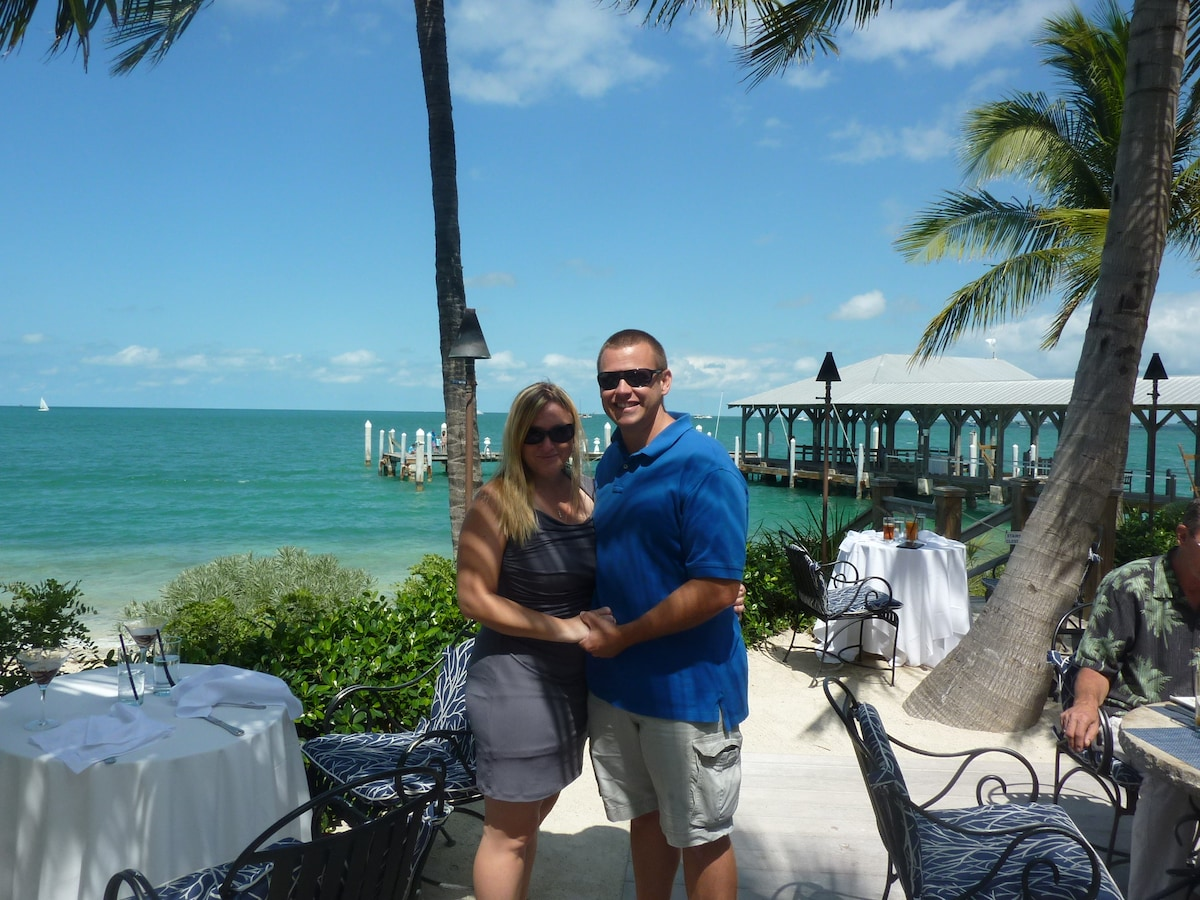 Russ & Kira from Key West