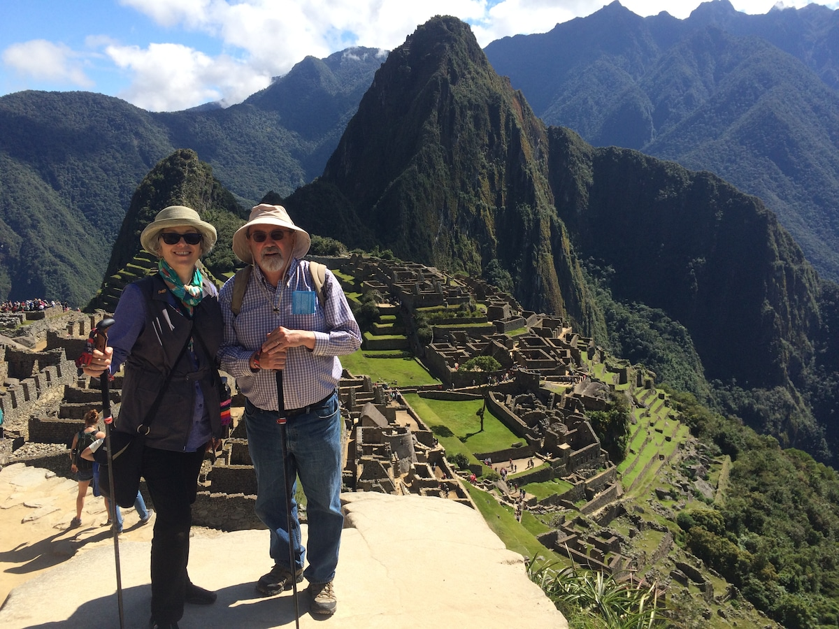 My wife, Bly, and I love to travel and we love our