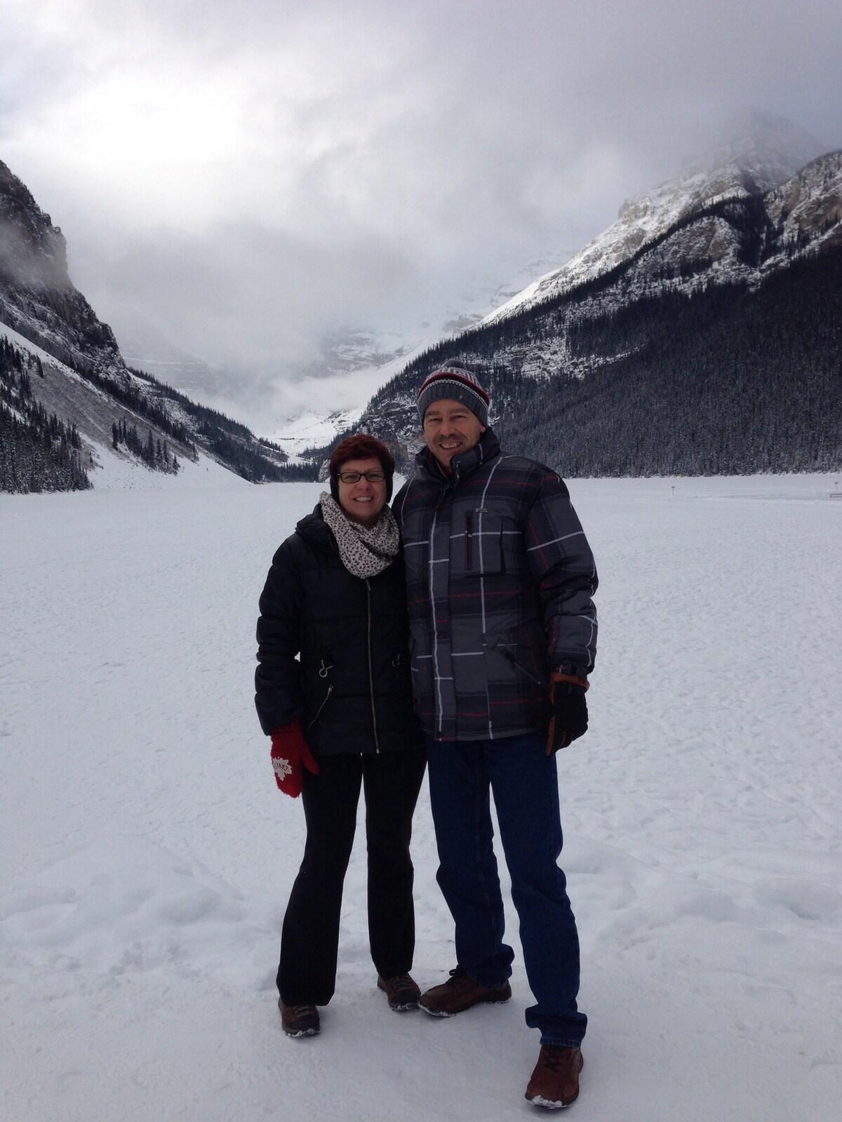 Helma And John From Edmonton, Canada
