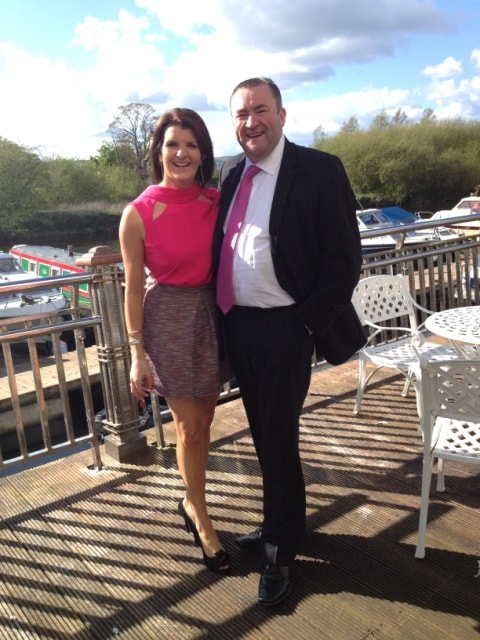 We both love to boat on many of irelands fabulous