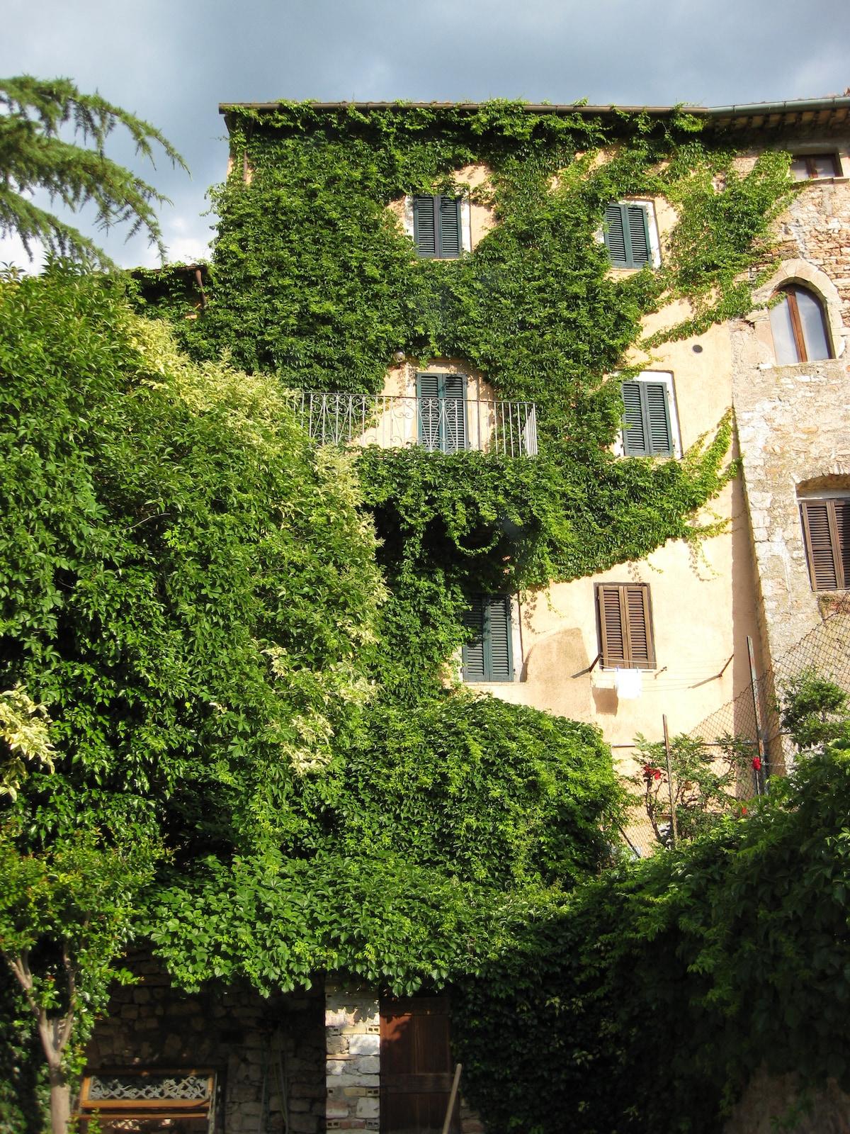 La Torre from Cerreto di Spoleto