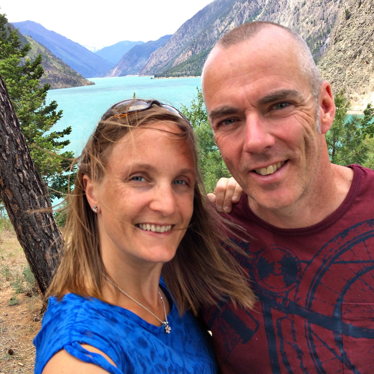 Helen & Chris From Lake Country, Canada