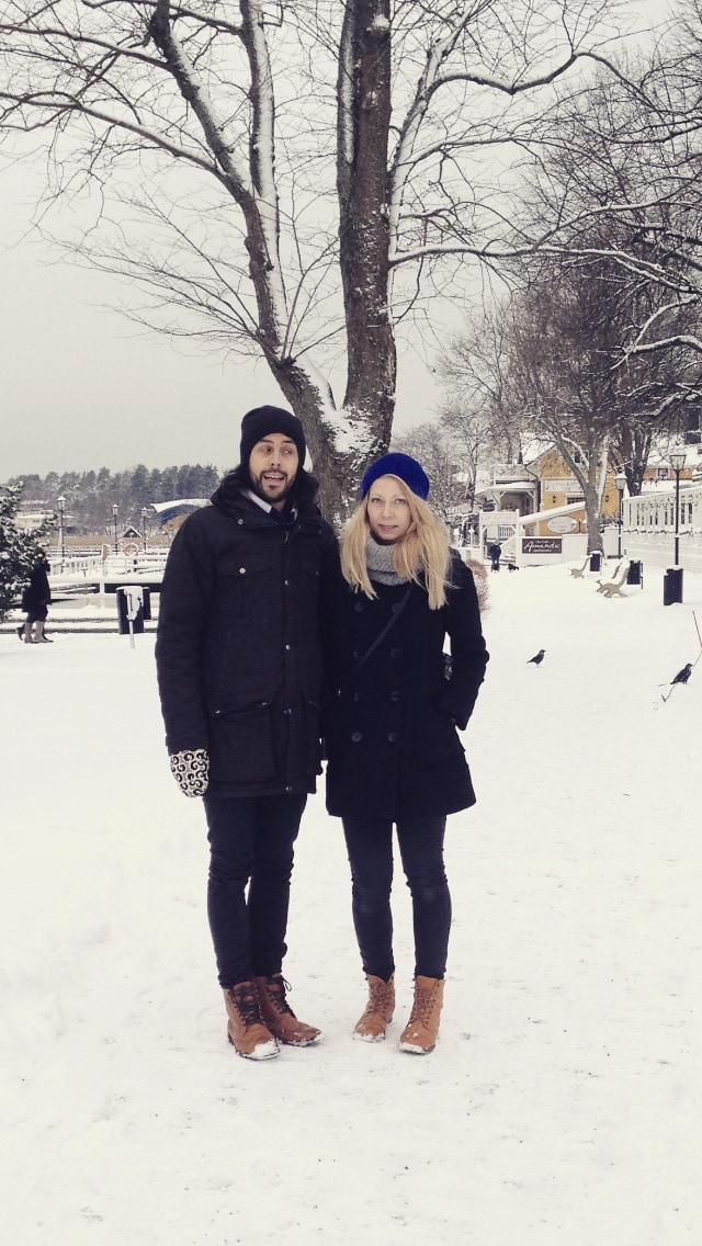 We are Tiina and Mauri, a couple living in Kallio,