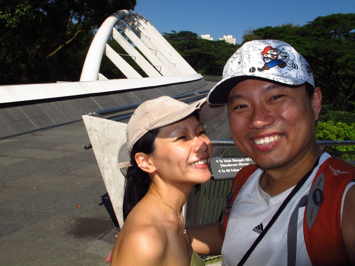 Glenn & Dawn from Singapore