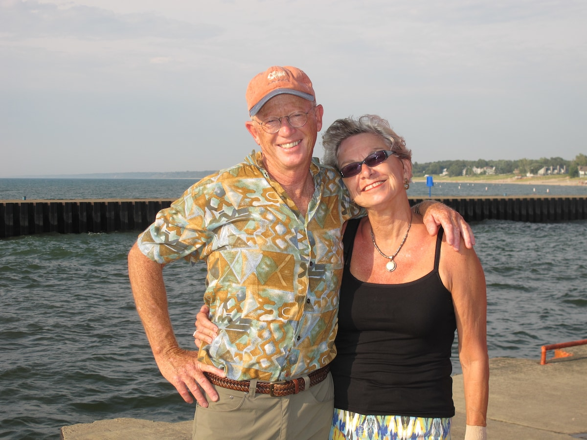 We are a retired couple with an empty nest and a b