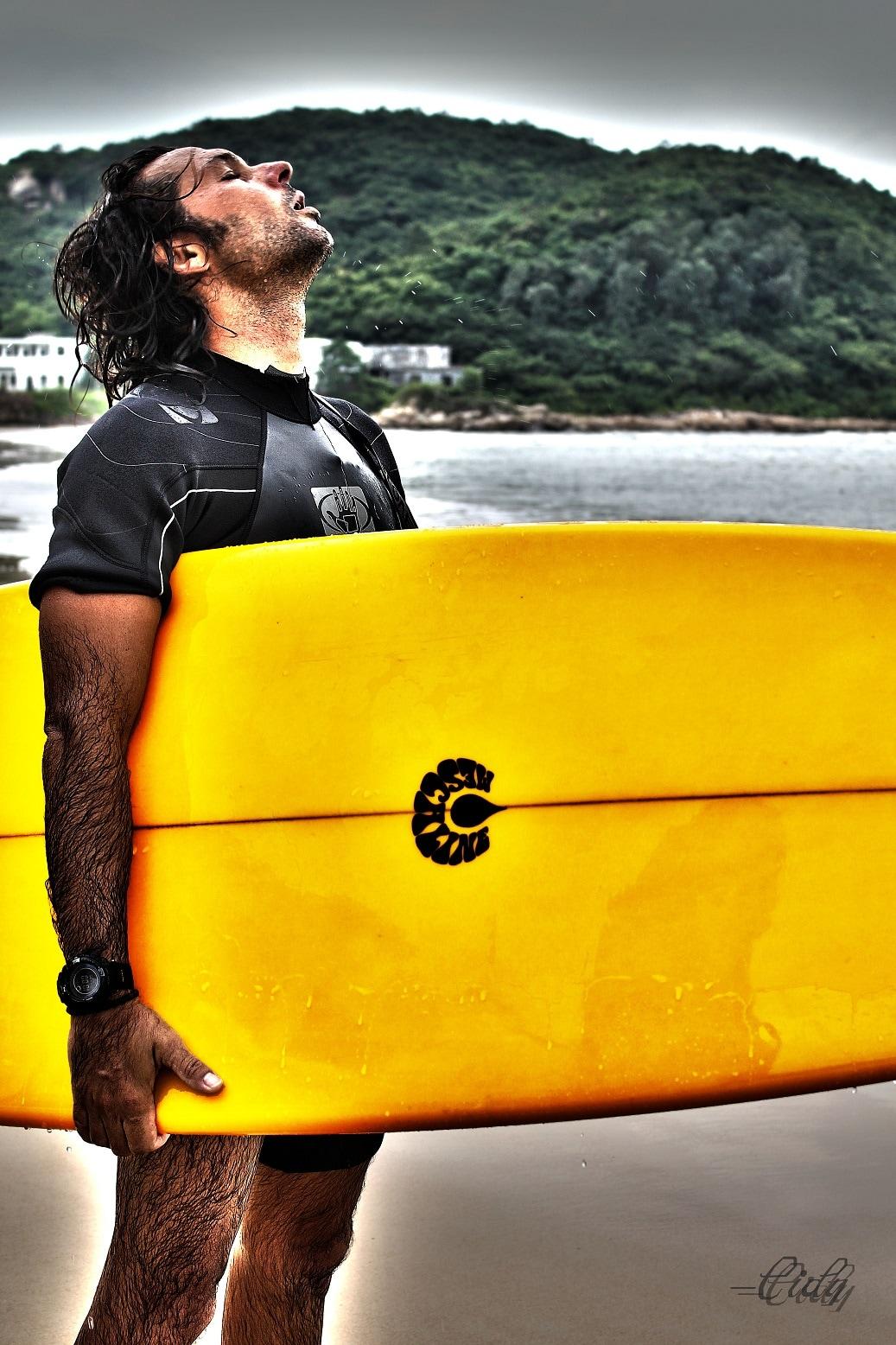Surfista, girovago e pensatore.