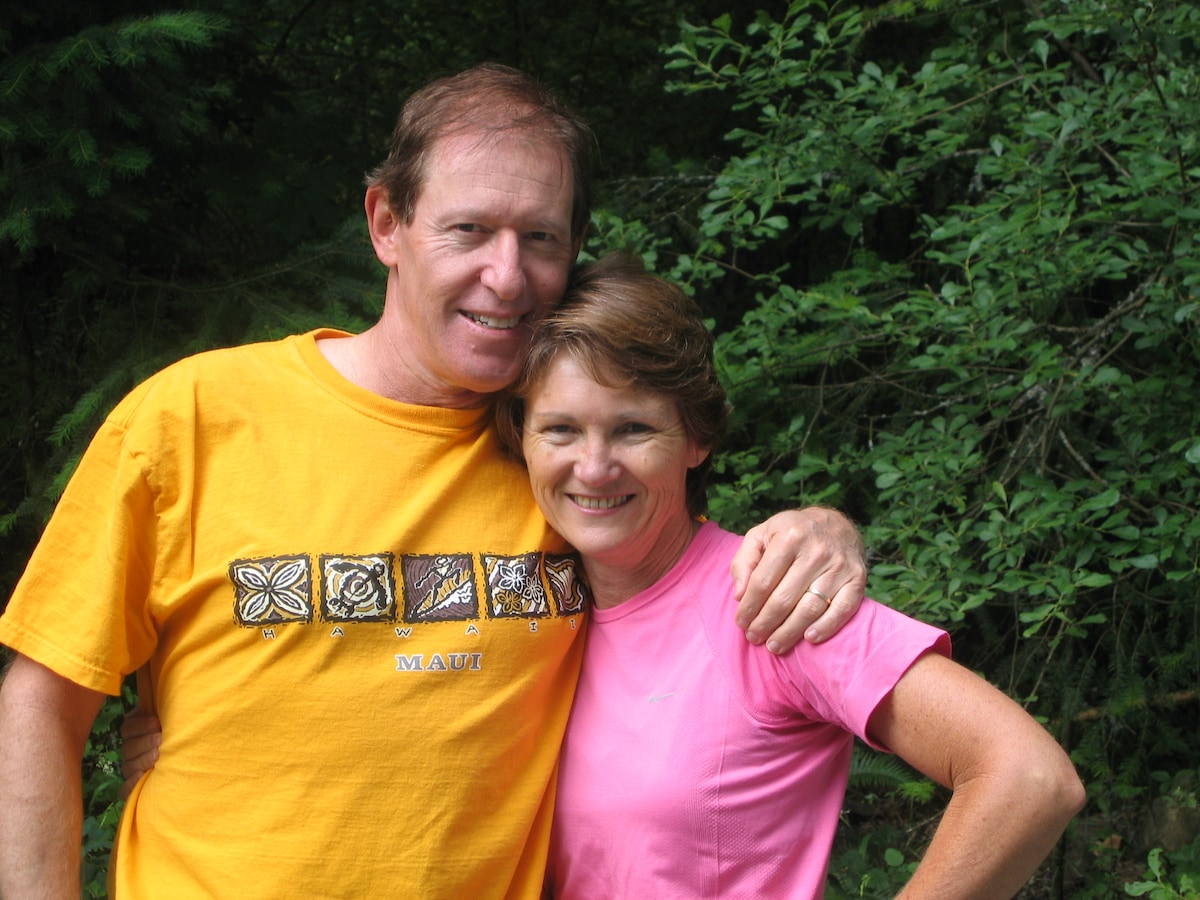 Sue And Greg From Victoria, Canada