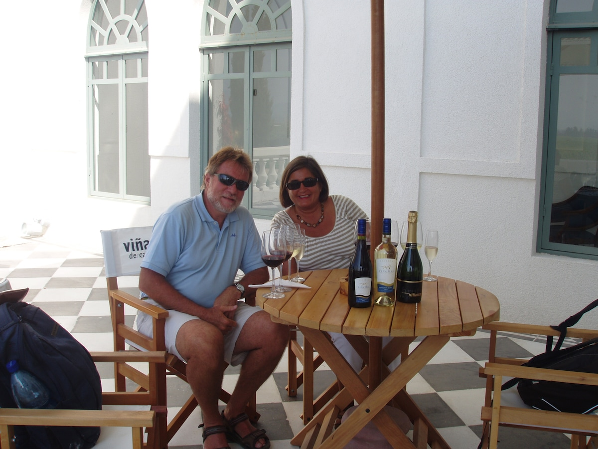 Greg & Joan from Collioure