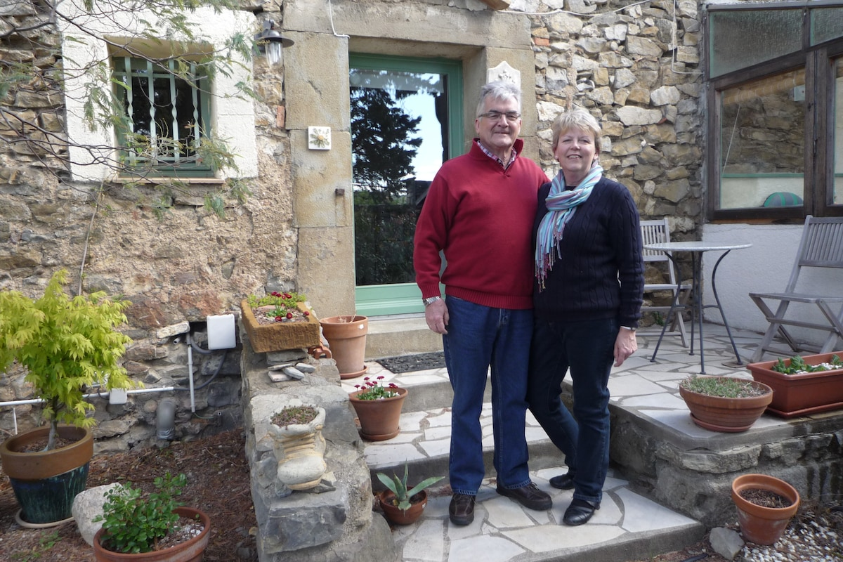 Catherine & Peter from Argens-Minervois