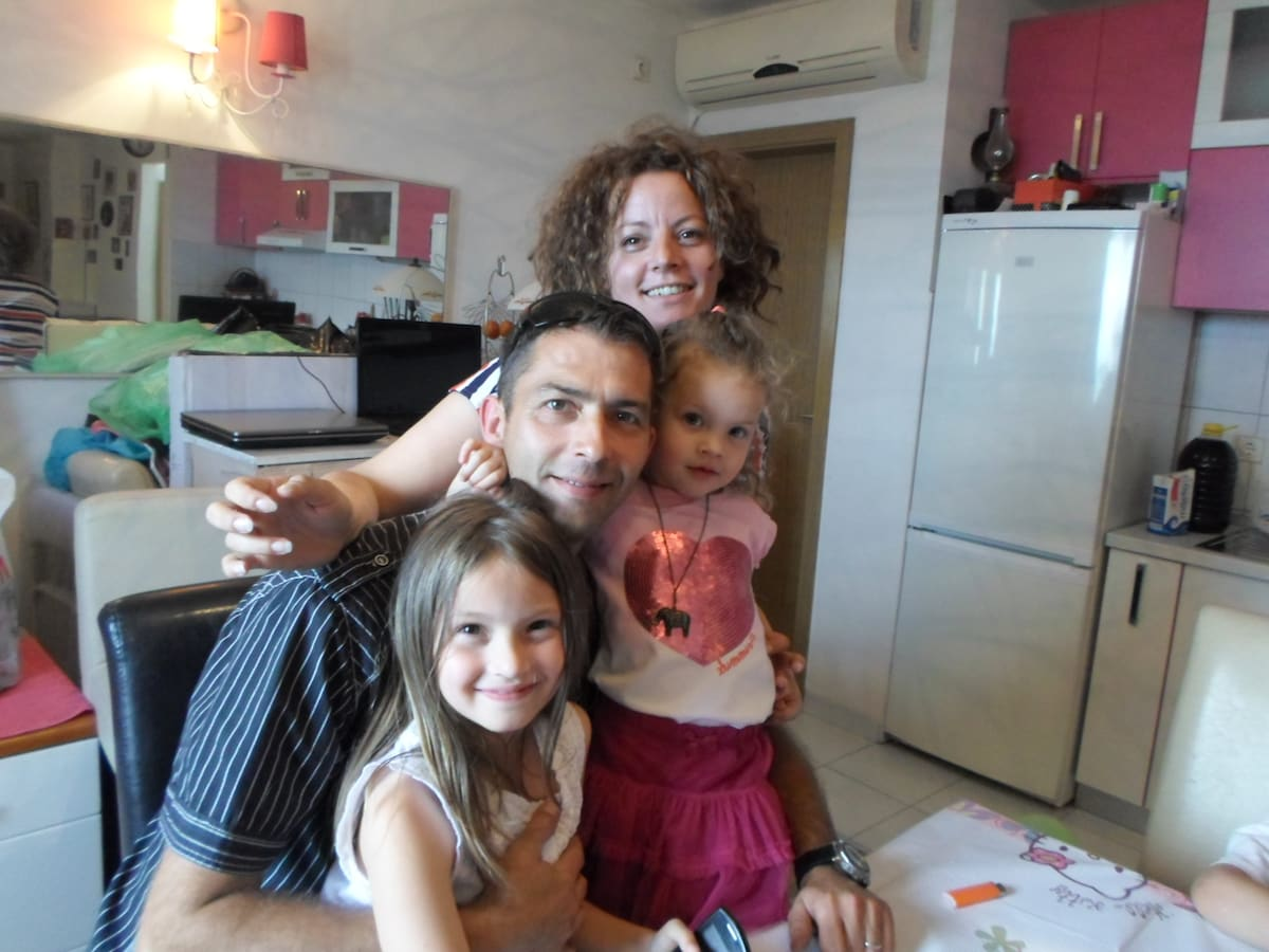 We are young family with two nice daughters 8 and
