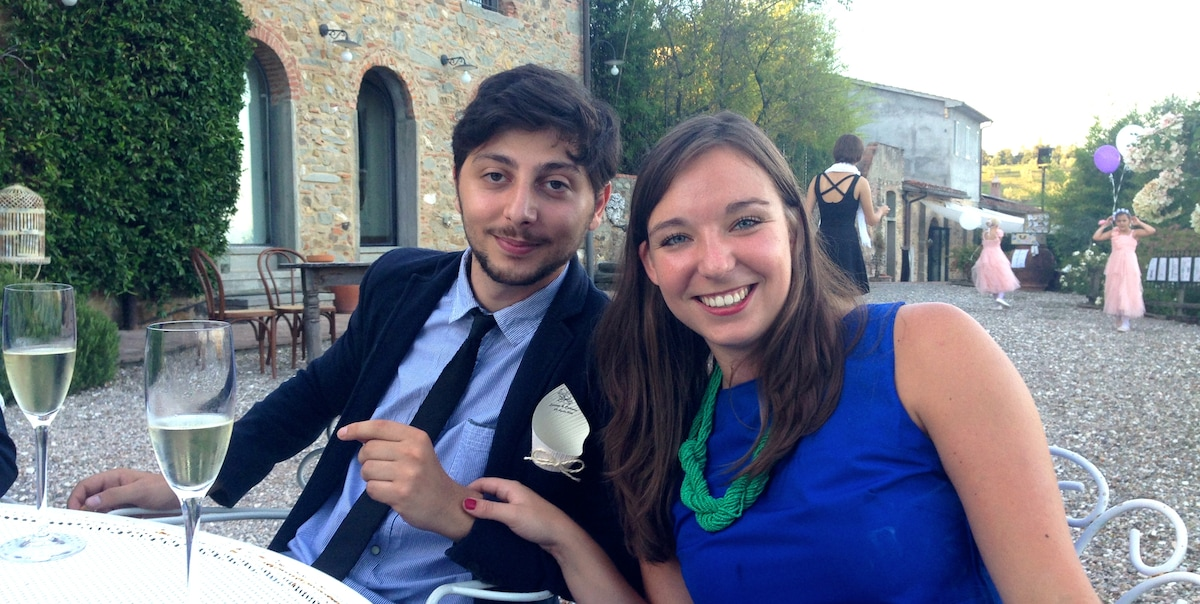 Giulio And Flo from Florence