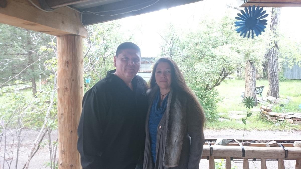 Gabriel And Ramona From La Loma, NM