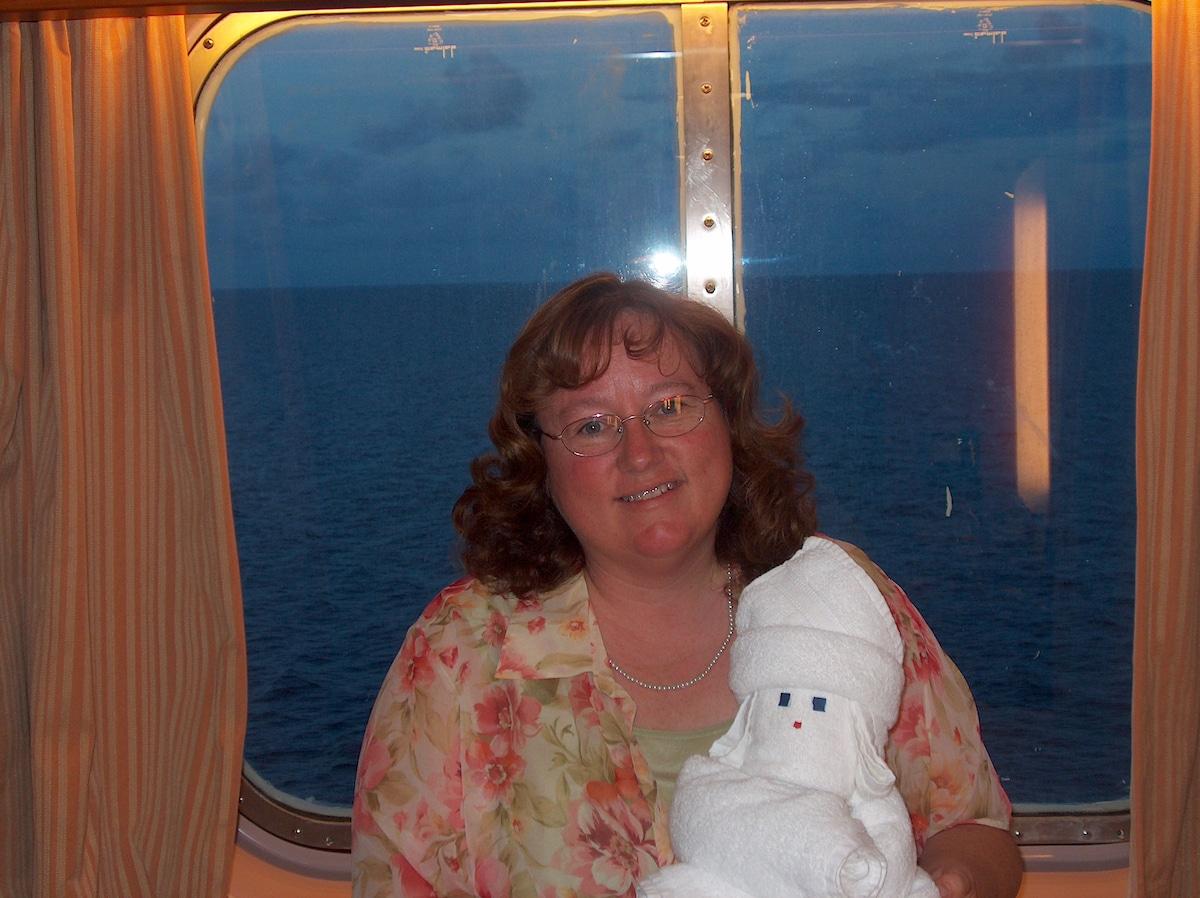From Merritt Island Florida, attending niece's wed