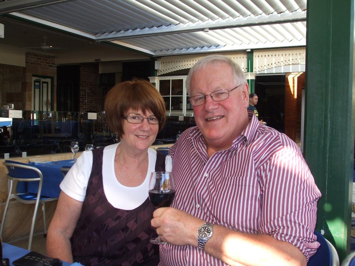 Jan & Ian from Westport