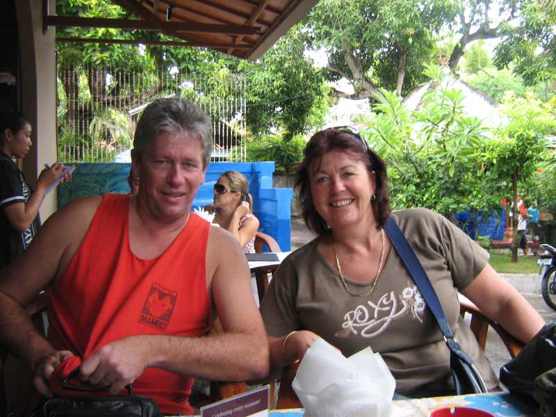 Kerryn And Mark from Kuta