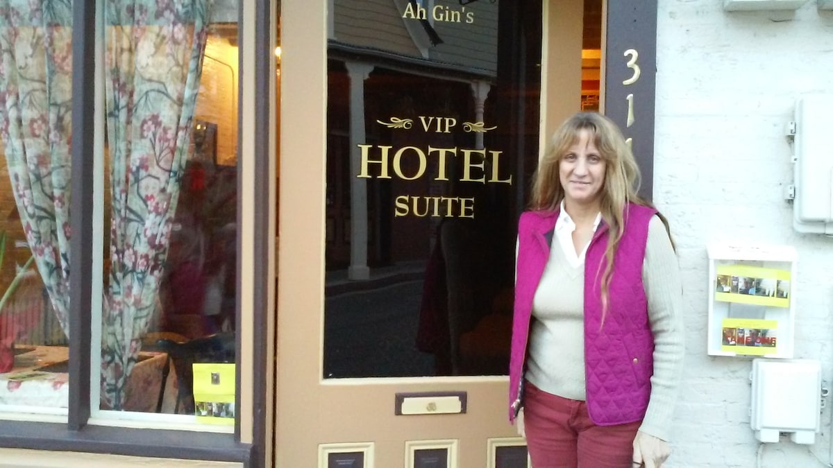 Kathleen from Nevada City