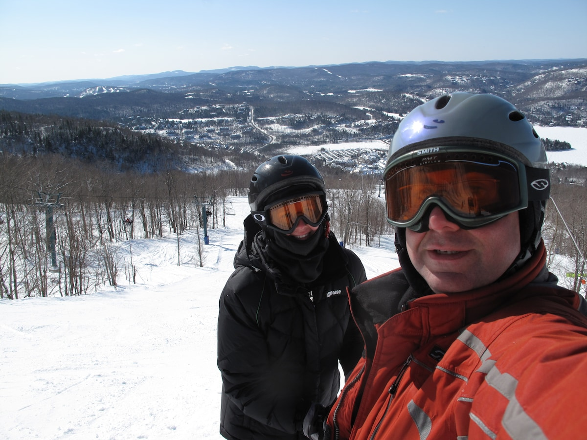 Peter & Chrisine from Mont-Tremblant